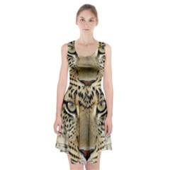 Leopard Face Racerback Midi Dress
