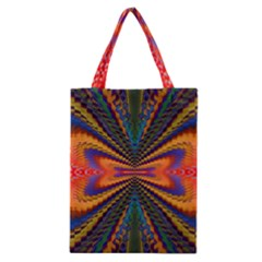 Casanova Abstract Art Colors Cool Druffix Flower Freaky Trippy Classic Tote Bag
