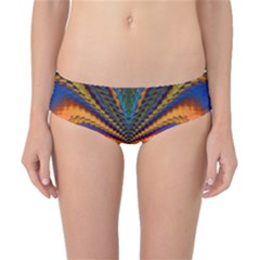 Casanova Abstract Art Colors Cool Druffix Flower Freaky Trippy Classic Bikini Bottoms