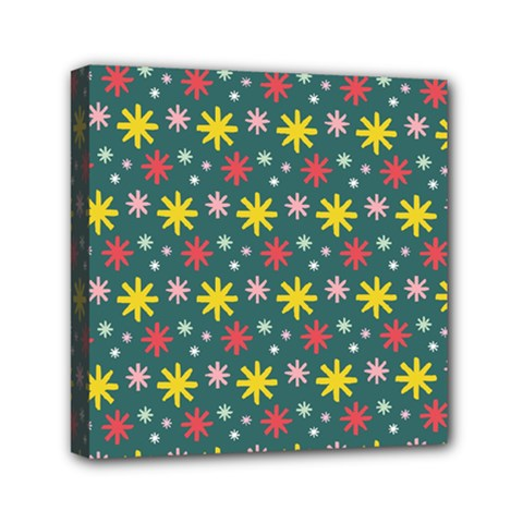 The Gift Wrap Patterns Mini Canvas 6  x 6