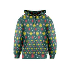 The Gift Wrap Patterns Kids  Zipper Hoodie
