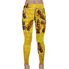 Honey Honeycomb Classic Yoga Leggings