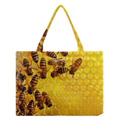 Honey Honeycomb Medium Tote Bag