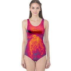 Space One Piece Swimsuit