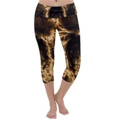 Space Capri Yoga Leggings