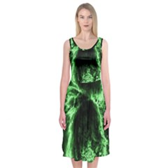 Space Midi Sleeveless Dress