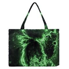 Space Medium Zipper Tote Bag
