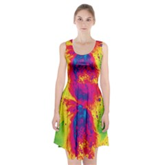 Space Racerback Midi Dress