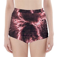Space High-Waisted Bikini Bottoms
