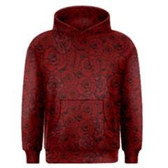 Red Roses Field Men s Pullover Hoodie