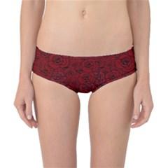 Red Roses Field Classic Bikini Bottoms