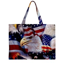 United States Of America Images Independence Day Zipper Mini Tote Bag