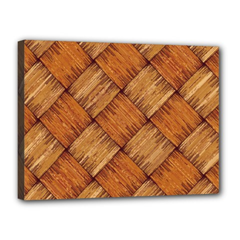 Vector Square Texture Pattern Canvas 16  x 12