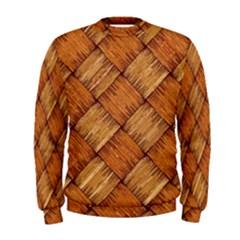 Vector Square Texture Pattern Men s Sweatshirt