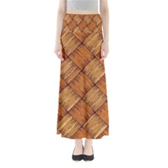 Vector Square Texture Pattern Maxi Skirts