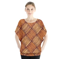 Vector Square Texture Pattern Blouse