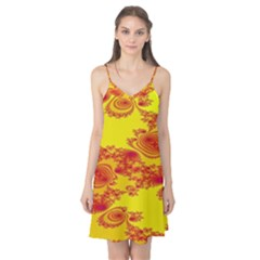 Floral Fractal Pattern Camis Nightgown