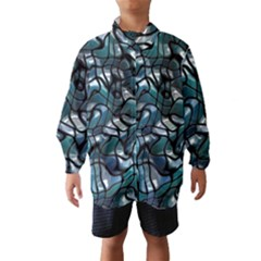 Old Spiderwebs On An Abstract Glass Wind Breaker (Kids)