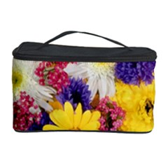 Colorful Flowers Pattern Cosmetic Storage Case
