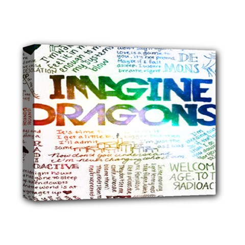 Imagine Dragons Quotes Deluxe Canvas 14  x 11