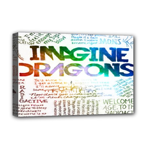 Imagine Dragons Quotes Deluxe Canvas 18  x 12