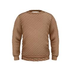 Tooling Patterns Kids  Sweatshirt