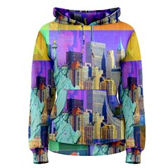 New York City The Statue Of Liberty Women s Pullover Hoodie
