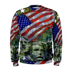 Usa United States Of America Images Independence Day Men s Sweatshirt