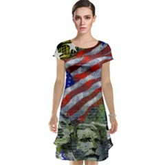 Usa United States Of America Images Independence Day Cap Sleeve Nightdress