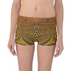 Fractal Pattern Reversible Bikini Bottoms