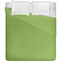 Trendy Basics   Trend Color Greenery Duvet Cover Double Side (california King Size)