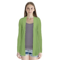 Trendy Basics   Trend Color Greenery Cardigans