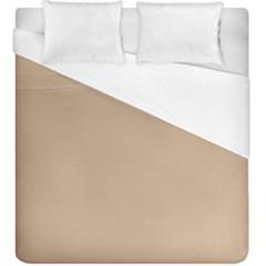 Trendy Basics   Trend Color Hazelnut Duvet Cover (king Size)