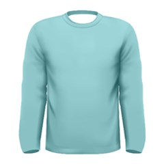 Trendy Basics   Trend Color Island Paradise Men s Long Sleeve Tee