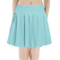 Trendy Basics   Trend Color Island Paradise Pleated Mini Skirt