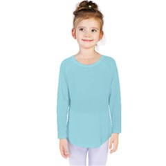 Trendy Basics   Trend Color Island Paradise Kids  Long Sleeve Tee