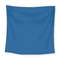 Trendy Basics   Trend Color Lapis Blue Square Tapestry (large)