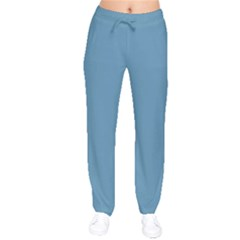Trendy Basics   Trend Color Niagara Drawstring Pants