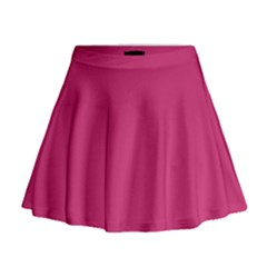 Trendy Basics   Trend Color Pink Yarrow Mini Flare Skirt