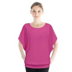 Trendy Basics   Trend Color Pink Yarrow Blouse