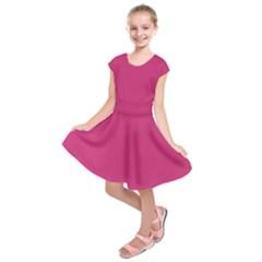 Trendy Basics   Trend Color Pink Yarrow Kids  Short Sleeve Dress