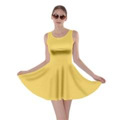 Trendy Basics - Trend Color PRIMEROSE YELLOW Skater Dress