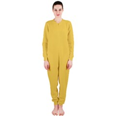 Trendy Basics - Trend Color PRIMEROSE YELLOW OnePiece Jumpsuit (Ladies)