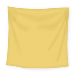 Trendy Basics   Trend Color Primerose Yellow Square Tapestry (large)