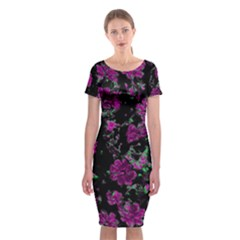 Floral Dreams 12 A Classic Short Sleeve Midi Dress