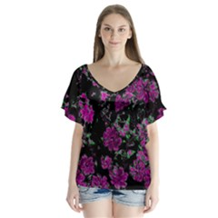 Floral Dreams 12 A Flutter Sleeve Top