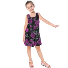 Floral Dreams 12 A Kids  Sleeveless Dress