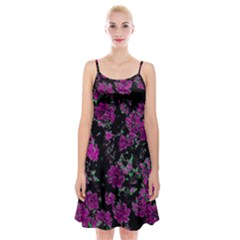 Floral Dreams 12 A Spaghetti Strap Velvet Dress