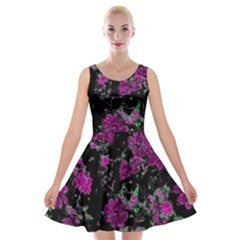 Floral Dreams 12 A Velvet Skater Dress