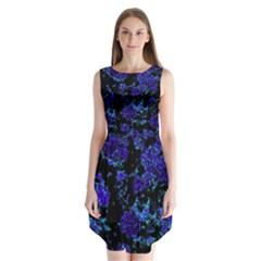 Floral Dreams 12 B Sleeveless Chiffon Dress